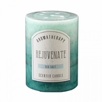 Sea Salt Pillar Candle 3X4