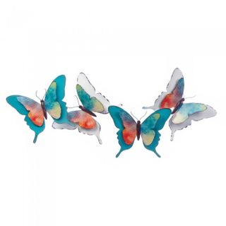 Watercolor Butterfly Wall Décor