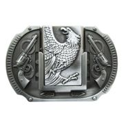 New Vintage Eagle Guns Lighter Belt Buckle Gurtelschnalle Boucle de ceinture BUCKLE-LT013AS