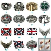 Flag Firefighter Welder Biker Rider Belt Buckle Mix Styles Choices Stock in US