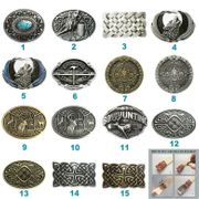 Western Deer Celtic Wolf Belt Buckle Mix Styles Choices Stock in US