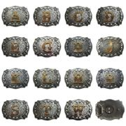 Western Cowboy Cowgirl Original Initial Letter Belt Buckle Stock In US