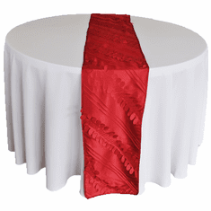 "12""x108"" Forest Taffeta Table Runners (8 Colors)"
