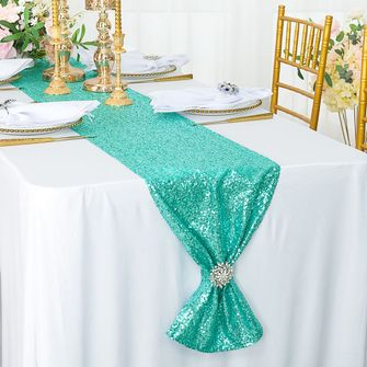 "12""x108"" Sequin Table Runners (21 colors)"