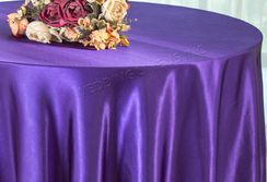 "120"" Round Satin Tablecloth - Regency 55863(1pc/pk)"