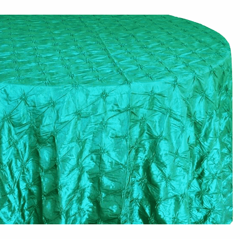 "120"" Pinchwheel Taffeta Tablecloth - Jade 66926 (1pc/pk)"