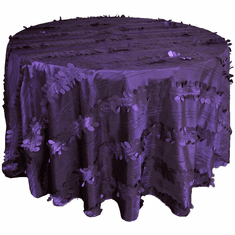 "120"" Round Seamless Forest Taffeta Tablecloths (7 Colors)"