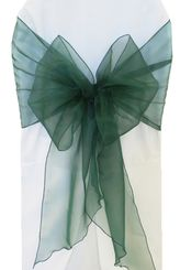 Wide Organza Chair Sashes - Holly 51819 (10pcs/pk)