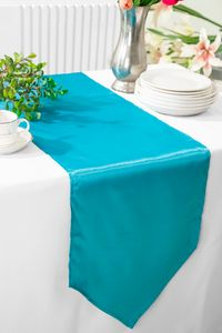 """13.5"""" x 108"""" Satin Table Runners - 57 Colors"""