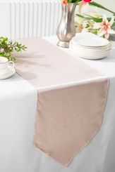 "13.5""x108"" Satin Table Runner - Blush Pink 53615(1pc)"