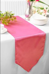"13.5""x108"" Satin Table Runner - Bubble Gum 53635(1pc)"