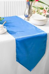 "13.5""x108"" Satin  Table Runner - Periwinkle / Cornflower 53625(1pc)"