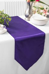 "13.5""x108"" Satin Table Runner - Regency 53663(1pc)"