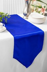 "13.5""x108"" Satin Table Runner - Royal Blue 53622(1pc)"