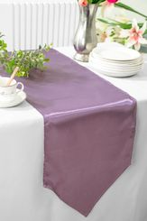 "13.5""x108"" Satin Table Runner - Wisteria 53673(1pc)"