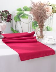 "13"" x 108"" Polyester Table Runners - Apple Red 52908 (1pc)"