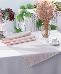 "13"" x 108"" Polyester Table Runners - Blush Pink 52915 (1pc)"
