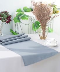 "13"" x 108"" Polyester Table Runners - Dusty Blue 52903 (1pc)"