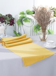 "13"" x 108"" Polyester Table Runners - Gold 52927 (1pc)"