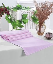 "13"" x 108"" Polyester Table Runners - Lavender 52911 (1pc)"
