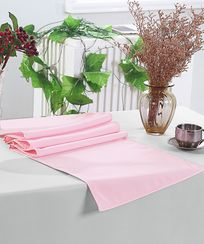 "13"" x 108"" Polyester Table Runners - Pink 52905 (1pc)"
