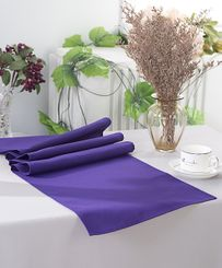 "13"" x 108"" Polyester Table Runners - Regency Purple 52963 (1pc)"