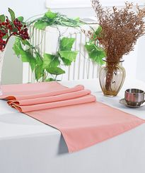 "13"" x 108"" Polyester Table Runners - Rose 52907 (1pc)"