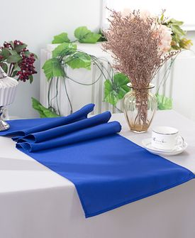 """13"""" x 108"""" Polyester Table Runners - Royal Blue 52922 (1pc)"""