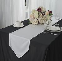 "13"" x 108"" Scuba (Wrinkle-Free) Table Runners - 7 Color"