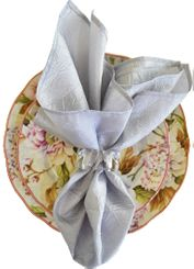 "20""x20"" Crushed Taffeta Napkin - Platinum61350(1pc)"