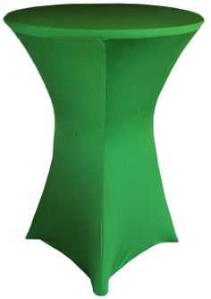 "30"" Cocktail Spandex Table Cover - Emerald Green 64638 (1pc/pk)"