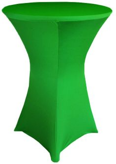 """30"""" Cocktail Spandex Table Cover - Emerald Green 64638 (1pc/pk)"""
