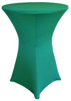 "30"" Cocktail Spandex Table Cover - Jade 64626 (1pc/pk)"