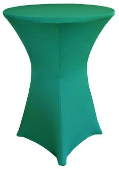 """30"""" Cocktail Spandex Table Cover - Jade 64626 (1pc/pk)"""
