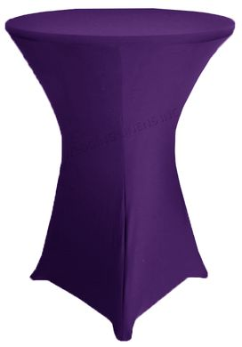 "30"" Cocktail Spandex Table Cover - Regency 64663 (1pc/pk)"