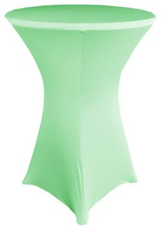 """30"""" Cocktail Spandex Table Cover - Sage Green 64630 (1pc/pk)"""