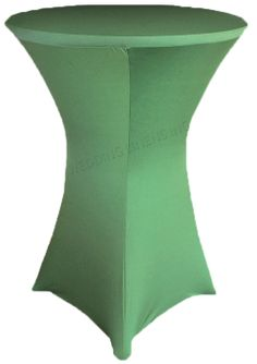 "36"" Cocktail Spandex Table Cover - Clover 64748 (1pc/pk)"