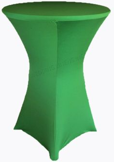 "36"" Cocktail Spandex Table Cover - Emerald Green 64738 (1pc/pk)"