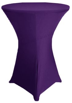 "36"" Cocktail Spandex Table Cover - Regency 64763 (1pc/pk)"