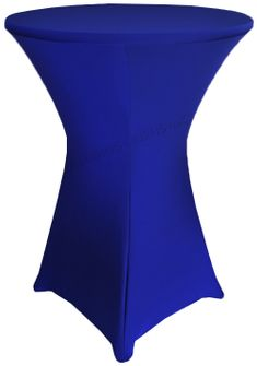 "36"" Cocktail Spandex Table Cover - Royal Blue 64722 (1pc/pk)"