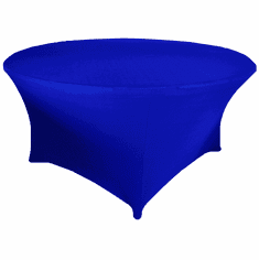 "5 Ft / 60""  (200 GSM) Round Spandex Table Covers (39 Colors)"