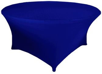 "5 Ft / 60""  (200 GSM) Round Spandex Table Covers (38 Colors)"