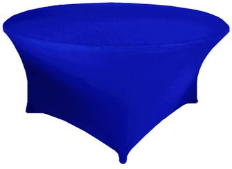 """5 Ft / 60""""  (200 GSM) Round Spandex Table Covers (39 Colors)"""