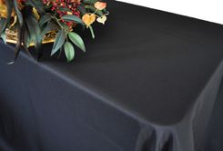 "54""x96"" (150 GSM) Rectangle Polyester Tablecloths (27 Colors)"