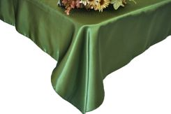 54x108 Rectangle Satin Tablecloth - Clover 50948(1pc/pk)