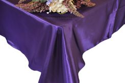 54x108 Rectangle Satin Tablecloth - Regency 50963(1pc/pk)