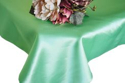 54x108 Rectangle Satin Tablecloth - Sage Green 50930(1pc/pk)