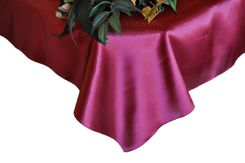 54x108 Rectangle Satin Tablecloth - Sangria 50966(1pc/pk)