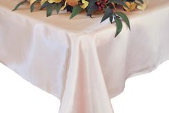 54x108 Rectangle Satin Tablecloth - Blush Pink 50915(1pc/pk)