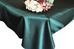 54x108 Rectangular Satin Tablecloths (56 colors)